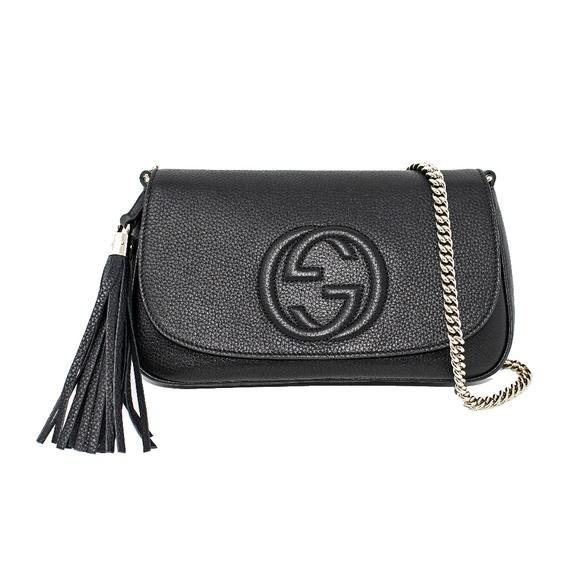 e427391d3393e5 Gucci Bags | New Soho Medium Borsa Chain Bag | Poshmark